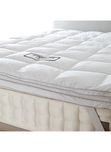 Penelope Piume Pro Kaz Tüyü Uyku Pedi Tek Kişilik 100x200 Beyaz
